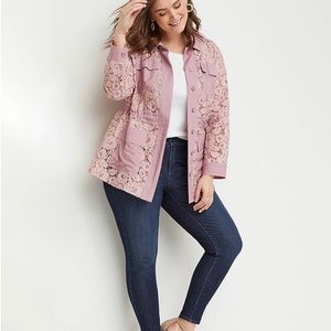5065ba8e6 Women Plus Size Lace Jacket on Poshmark